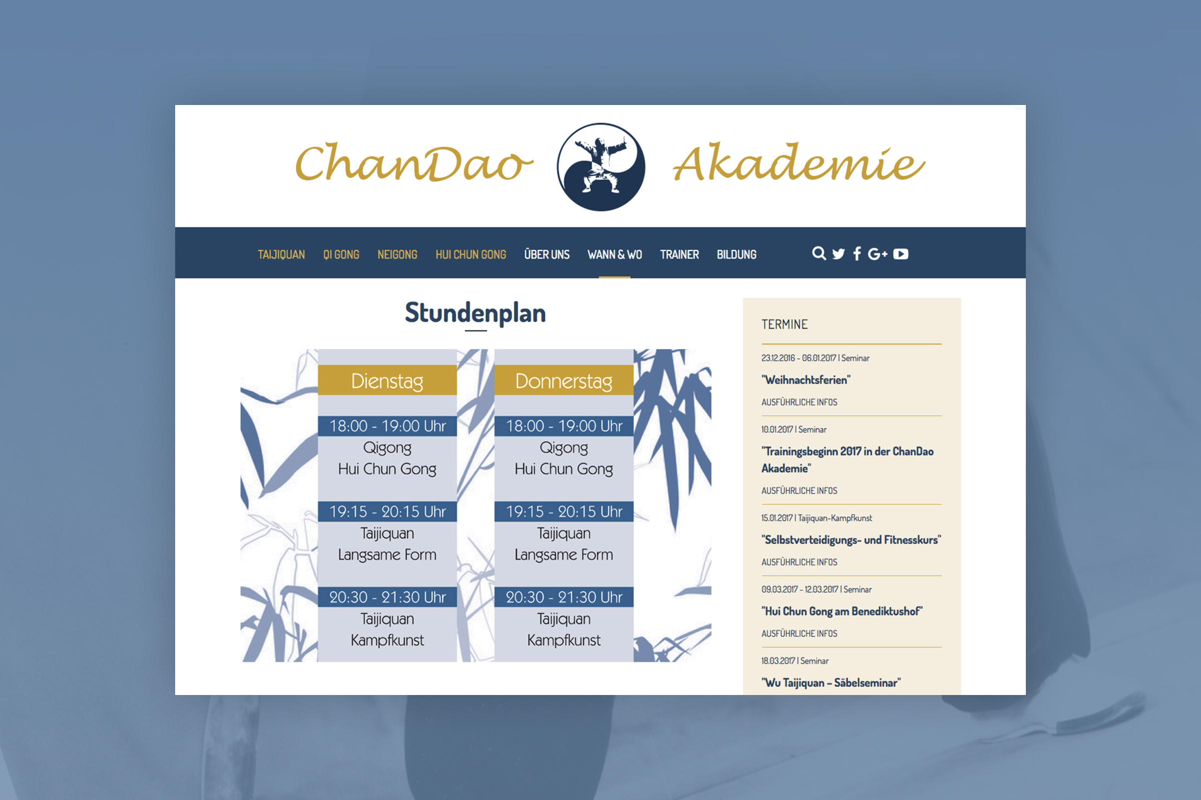 RIS Web- & Software Development - Projekt - Chandao