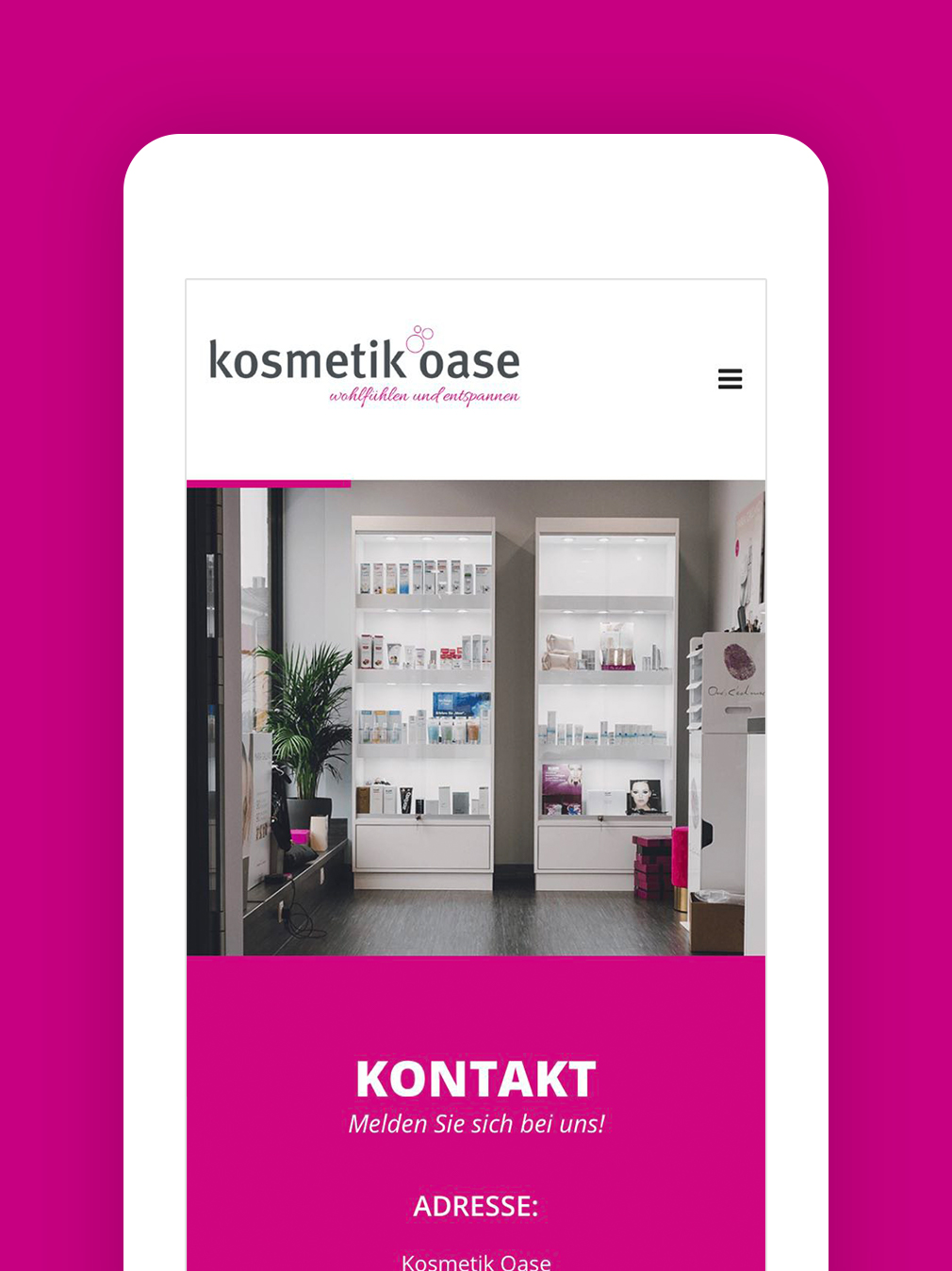 RIS Web- & Software Development - Projekt - Kosmetikoase Teublitz