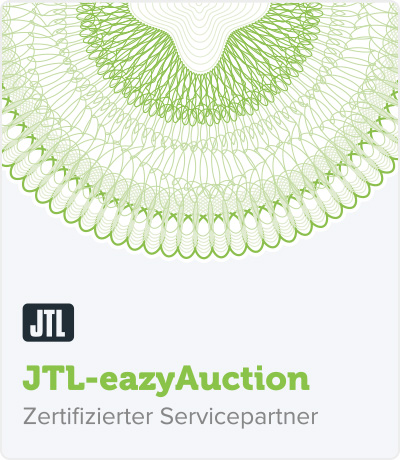 RIS Web- & Software Development - Zertifizierung - JTL eazyAuction
