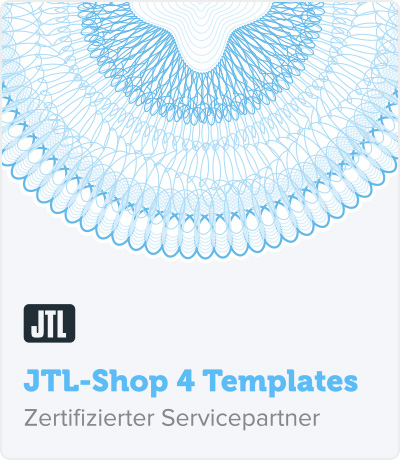 RIS Web- & Software Development - Zertifizierung - JTL Shop Templates