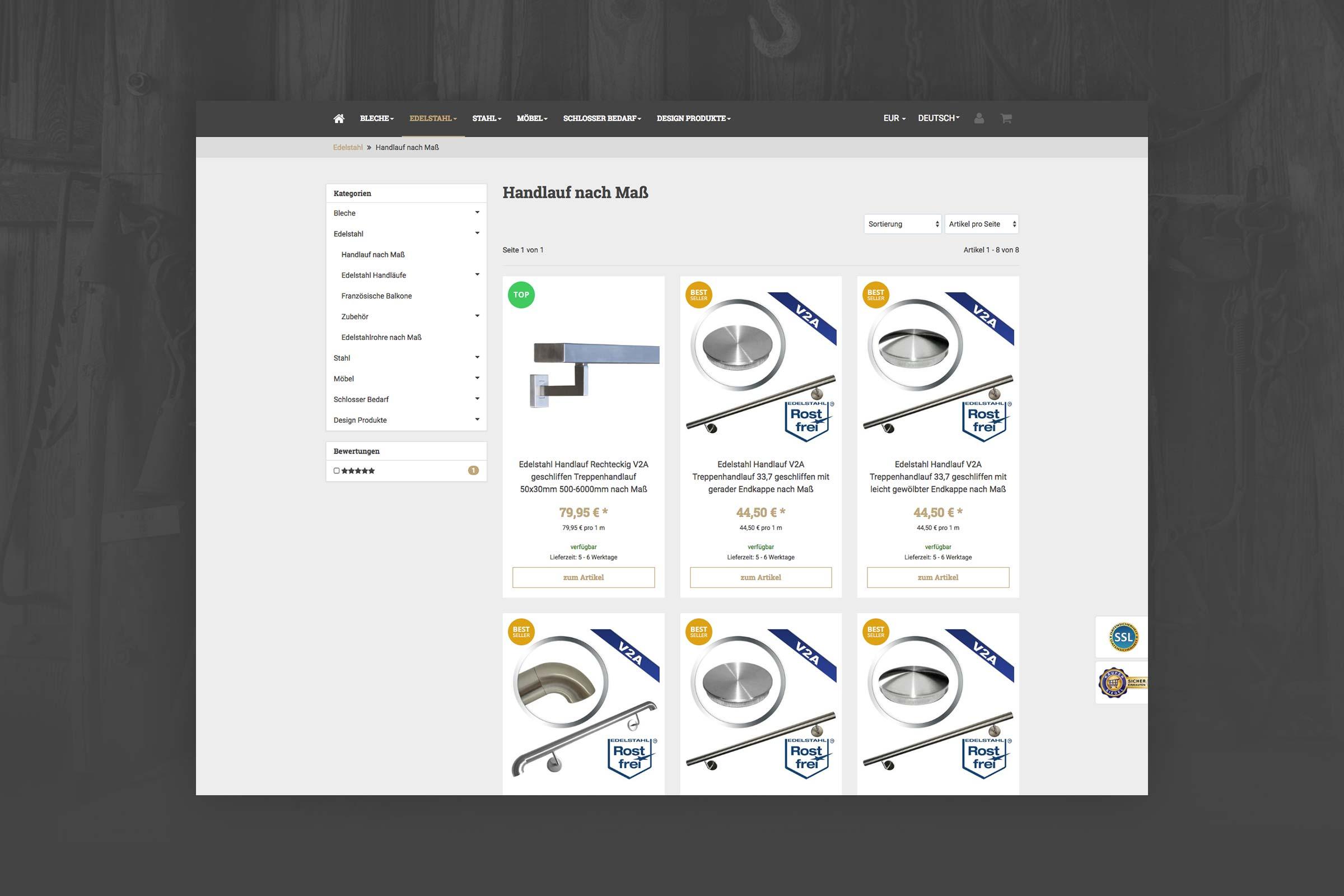 RIS Web- & Software Development - Projekt - Schmiedekult