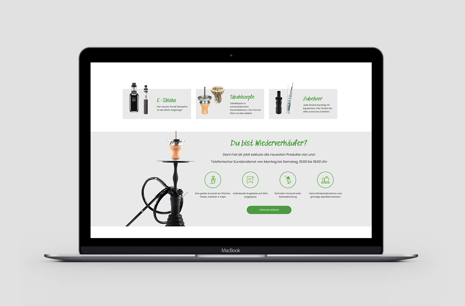 RIS Web- & Software Development - Projekt - Smokkers.de
