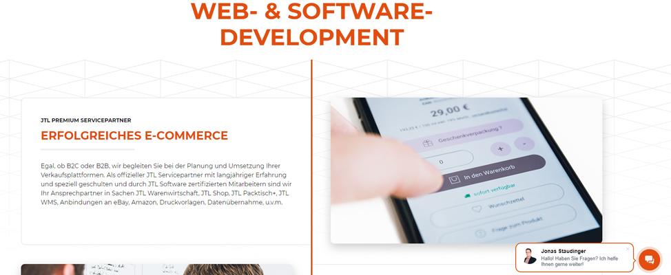 RIS Web- & Software Development - Die Relevanz von Homepage & Landingpage