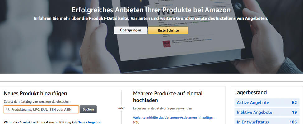 RIS Web- & Software Development - Amazon Marketplace - Tipps für Beginner
