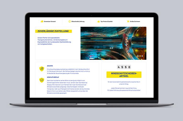 RIS Web- & Software Development - Projekt - autoglaswelt.de